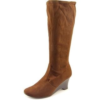 Karen Scott Lena   Round Toe Synthetic  Knee High Boot