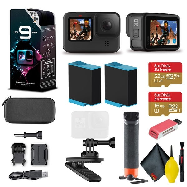 GoPro HERO9 Action Camera - Special Bundle Floating Hand Grip. Opens flyout.