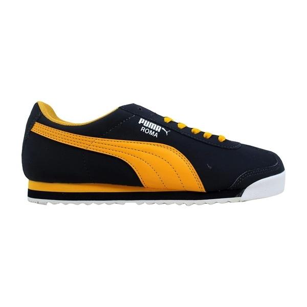 puma roma navy yellow