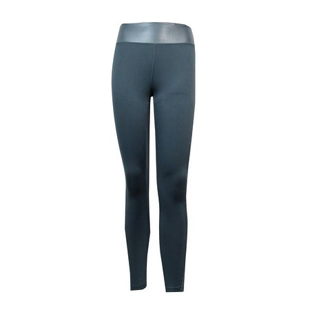 Jessica Simpson Women's Shine Trim Active Leggings - jazzy grey