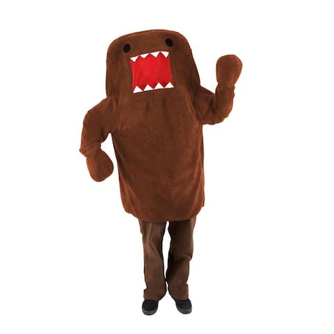 Domo Costume Adult - Brown