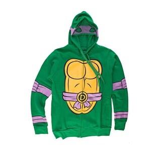I Am Donatello Teenage Mutant Ninja Turtles Zip Zip Up Hoodie