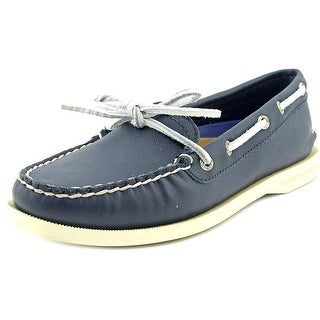 Sperry Top Sider A/O Kent Moc Toe Leather Boat Shoe