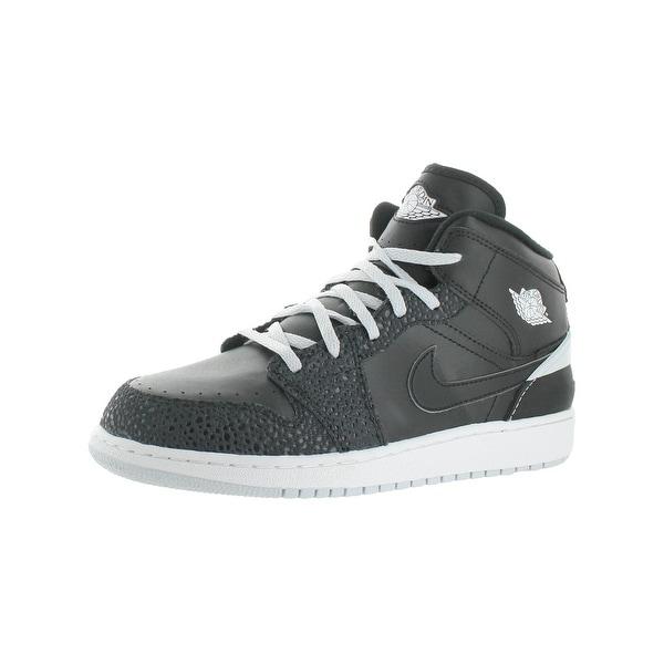 huge discount 38175 a1200 Shop Jordan Boys Air Jordan 1 Retro '86 Fashion Sneakers Big ...
