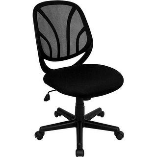 Offex Y-GO Chair Mid-Back Black Mesh Computer Task Chair [OF-GO-WY-05-GG]