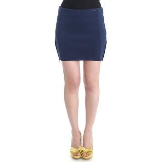 Costume National Costume National Blue nylon mini skirt