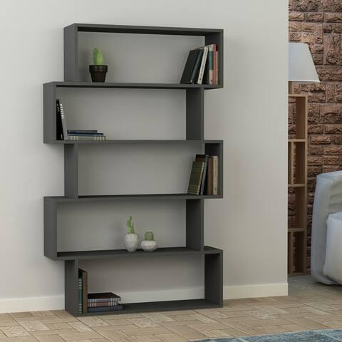 Porch & Den Celilo Melamine-coated Modern Bookcase