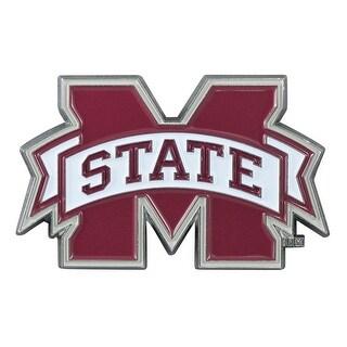 Mississippi State University Color Chrome Car Emblem