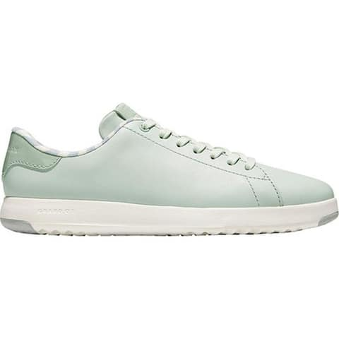 2555b03366a Cole Haan Women s GrandPro Tennis Sneaker Smoke Optic White Patent Leather  Leather