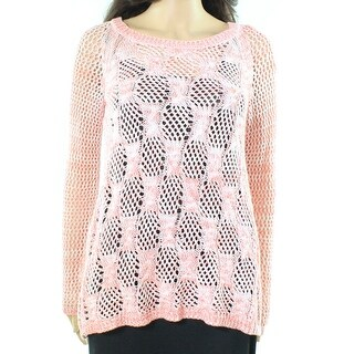 Jessica Simpson NEW Habiscus Pink Womens Size Small S Pullover Sweater