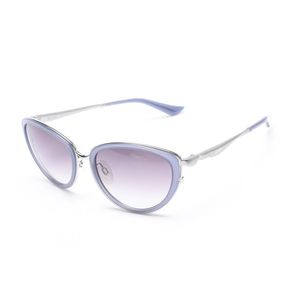 991c3c5fe2f3 Shop Moschino Women's Cat Eye Sunglasses Blue - Small - Free Shipping Today  - Overstock - 13405228