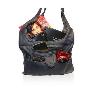 Shoulder Leather Handbag