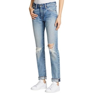Levi's Womens 505C Jeans Skinny Destroyed