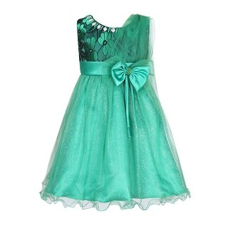 Richie House Girls' Princess Party Dress with Mesh