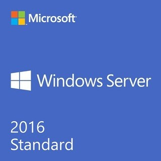 Microsoft Windows Server 2016 Standard 64 Bit OEM 16 Core