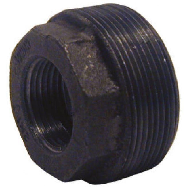 PanNext B-BUS1510 Hex Bushing 1-1/2 x 1, Black