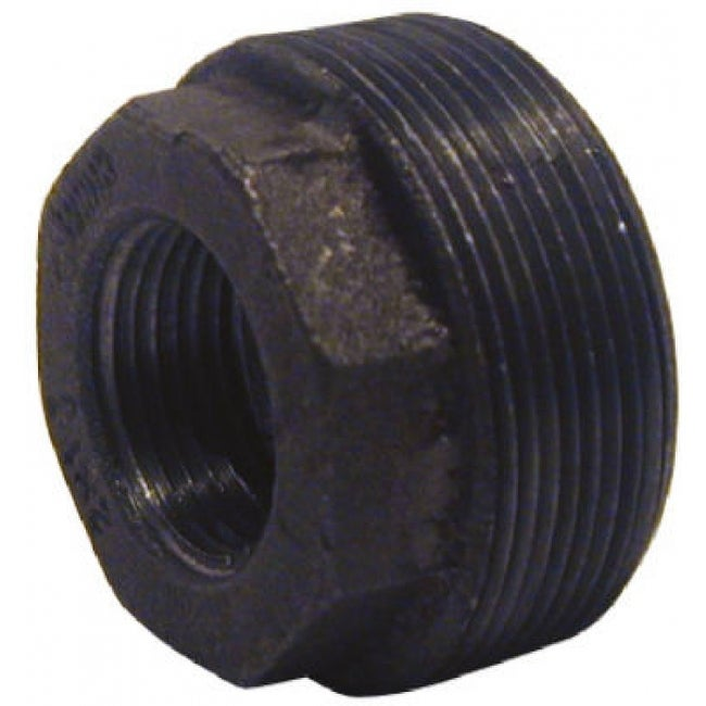 PanNext Hex Bushing 1/2 x 1/8, Black