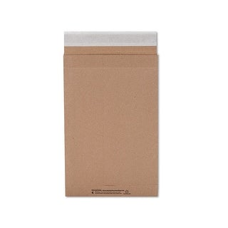 "Pack Of 25, Solid 9.5 X 14.5"" Natural Peel & Stick Mailers 126 Lb Paper For Tear & Puncture Protection"