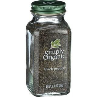 Simply Organic - Black Pepper ( 3 - 2.31 OZ)
