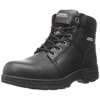 Skechers Work Men's Workshire Relaxed Fit Work Steel Toe Boot,Black,