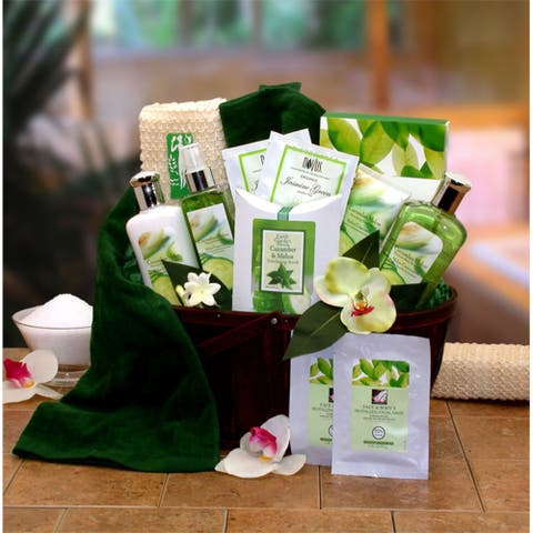 Cucumber Melon Spa Bath & Body Gift Basket