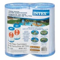 Intex Recreation 29002E Twin Pack Filter Cartridge -