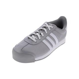 Adidas Samoa Fashion Sneakers Low Top Shimmer - 6 medium (b,m) big kid