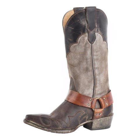 Stetson Western Boots Womens Jade Leather Brown