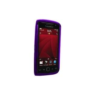 OEM Verizon BlackBerry Torch 9850 Silicone Case (Purple)