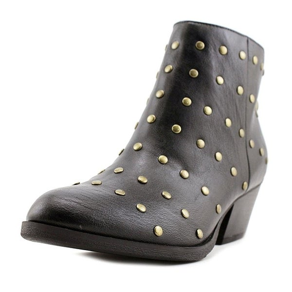 Indigo Rd. Keetra Women Pointed Toe Synthetic Black Ankle Boot