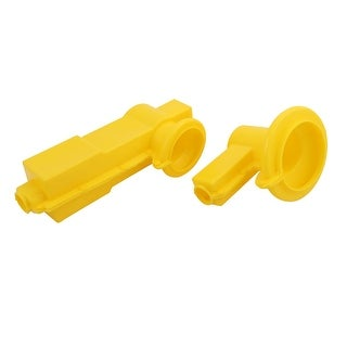 1Pair Transformer Insulate Shield Silicone Rubber 15KV Voltage Resistance Yellow