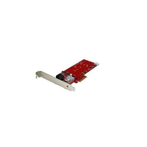 Startech - Pexm2sat3422 2Slot Pci Express M.2 Raid Cardnw/ 2X Sata3 Ports Pcie Sata Card