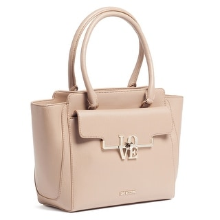 Moschino JC4017 0209 Taupe Satchel/Shoulder Bag - 12.5-10-5