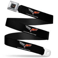 C6 Logo Repeat Seatbelt Belt Fashion Belt