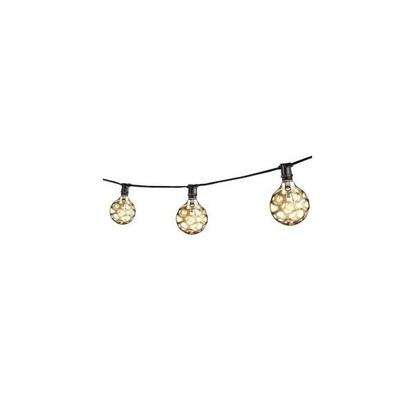 Bulbrite 810042 25 Foot 15 Light Socket String Light - black - N/A