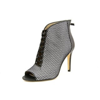 INC International Concepts Royall Peep-Toe Canvas Bootie