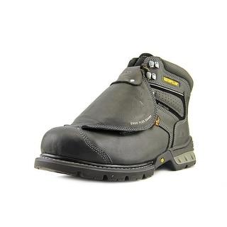 Caterpillar Ergo Flexguard ST Men Round Toe Leather Black Work Boot