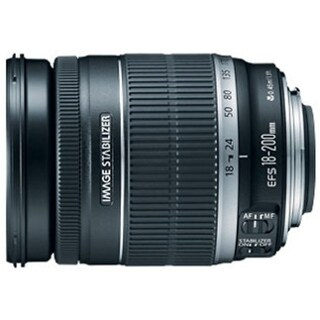Canon EF-S 18-200mm f/3.5-5.6 IS Zoom Lens - 0.24x - 18mm to (Refurbished)