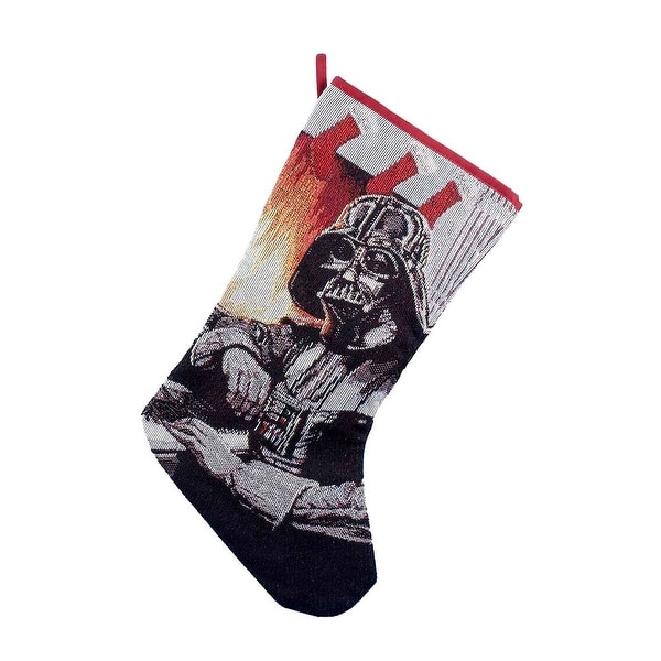 Kurt Adler Star Wars Darth Vader Tapestry Stocking, 19-Inch