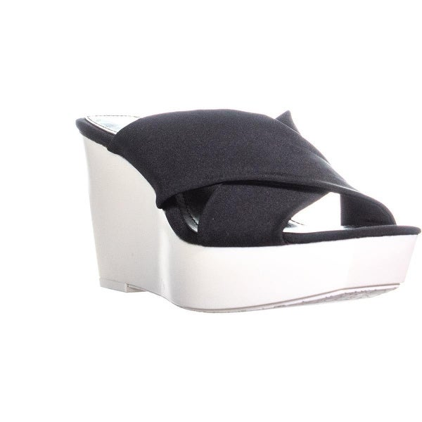 1f5a1ad3d9cd Shop Calvin Klein Shyna Platform Wedge Slide Sandals
