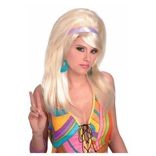 Blonde Mod Wig