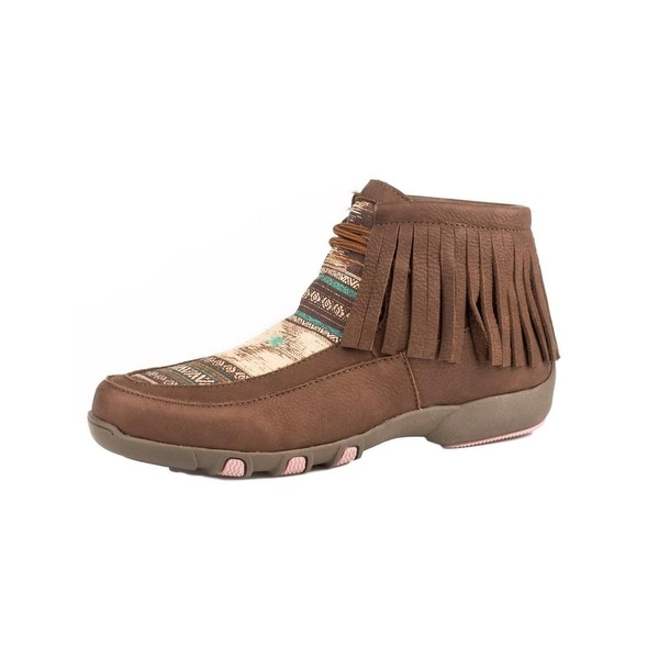Roper Western Shoes Womens Santa Fe Ankle Lace Up