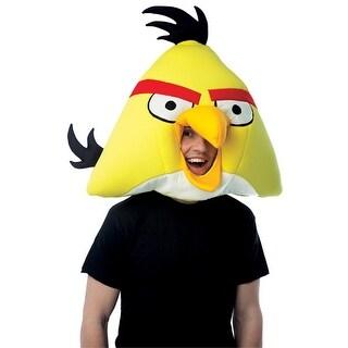 Yellow Angry Birds Headpiece Mask for Halloween Costume