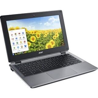 """Acer Aspire C730E-C4BA Chromebook Intel Celeron N2840 (2.16 GHz) 2 GB Memory 16 GB Flash Memory SSD 11.6"""" Chrome OS"""
