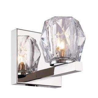 """Woodbridge Lighting 18551LE-C30410 Jewel Single Light 3-7/8"""" Wide LED Bathroom S"""