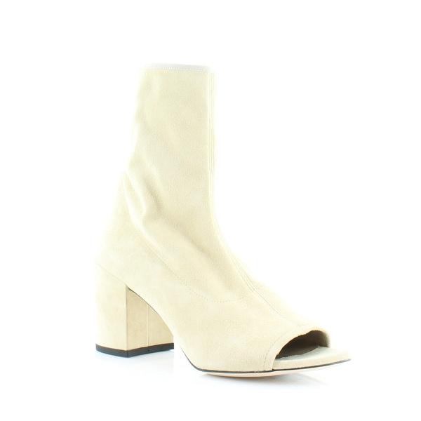 Stuart Weitzman Bigkoko Women's Boots Cream - 9