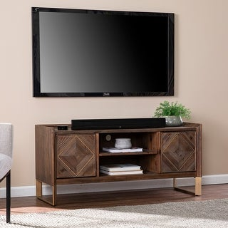 Link to Carbon Loft Arverly Reclaimed Wood Media Console Similar Items in TV Stands & Entertainment Centers