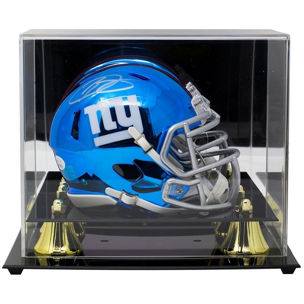 68b7e840 Shop Odell Beckham Jr. Signed NY Giants Chrome Mini Helmet JSA w/ Deluxe  Acrylic Case - Free Shipping Today - Overstock - 25782057