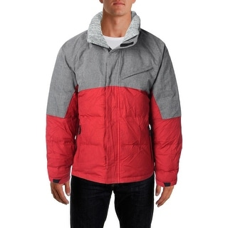Nautica Mens Quilted Down Packable Coat