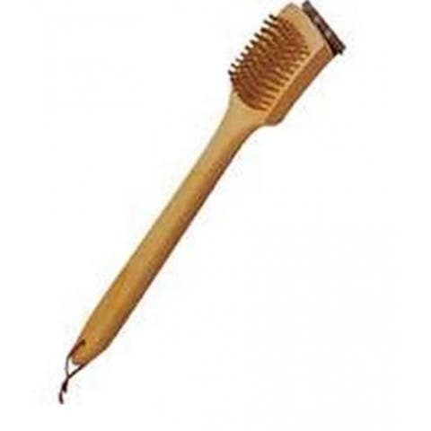 """Mintcraft SP2483L Wood Grill Brush, 18"""", Stainless Steel"""
